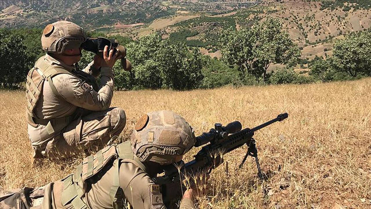 Son 24 saatte 8 PKK'lı etkisiz hale getirildi