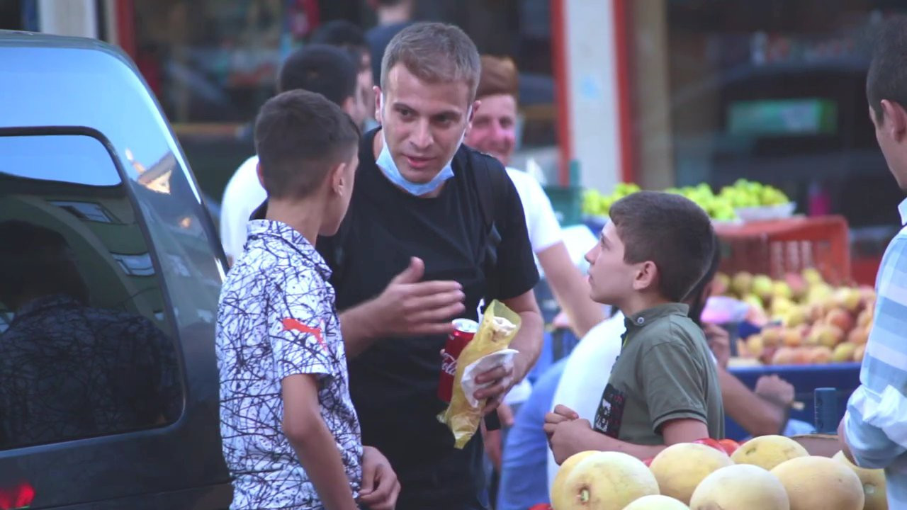 MSB'den yardımsever Diyarbakırlı çocuklara övgü