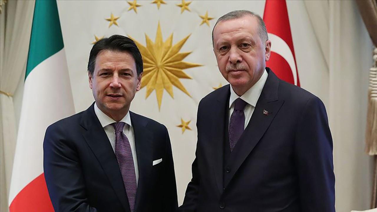 Erdoğan ile İtalya Başbakanı Conte Akdeniz görüştü