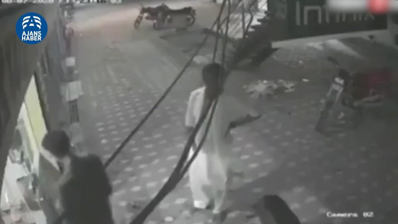 Elektrik çarpmasından kurtarılan adam ölümden dönd