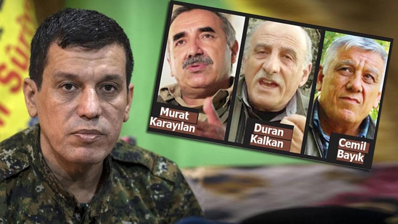 Soruşturmada PKK'nın dağ kadrosu da var