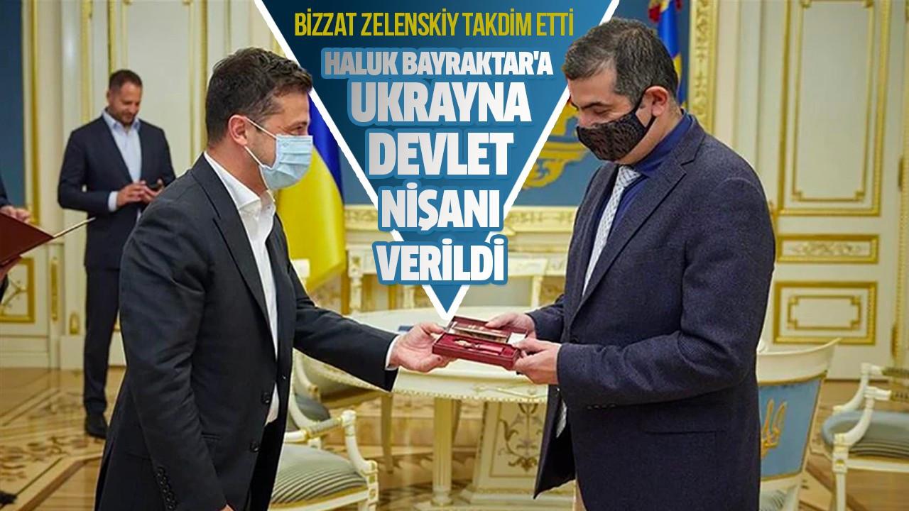 Haluk Bayraktar'a Ukrayna devlet nişanı verildi