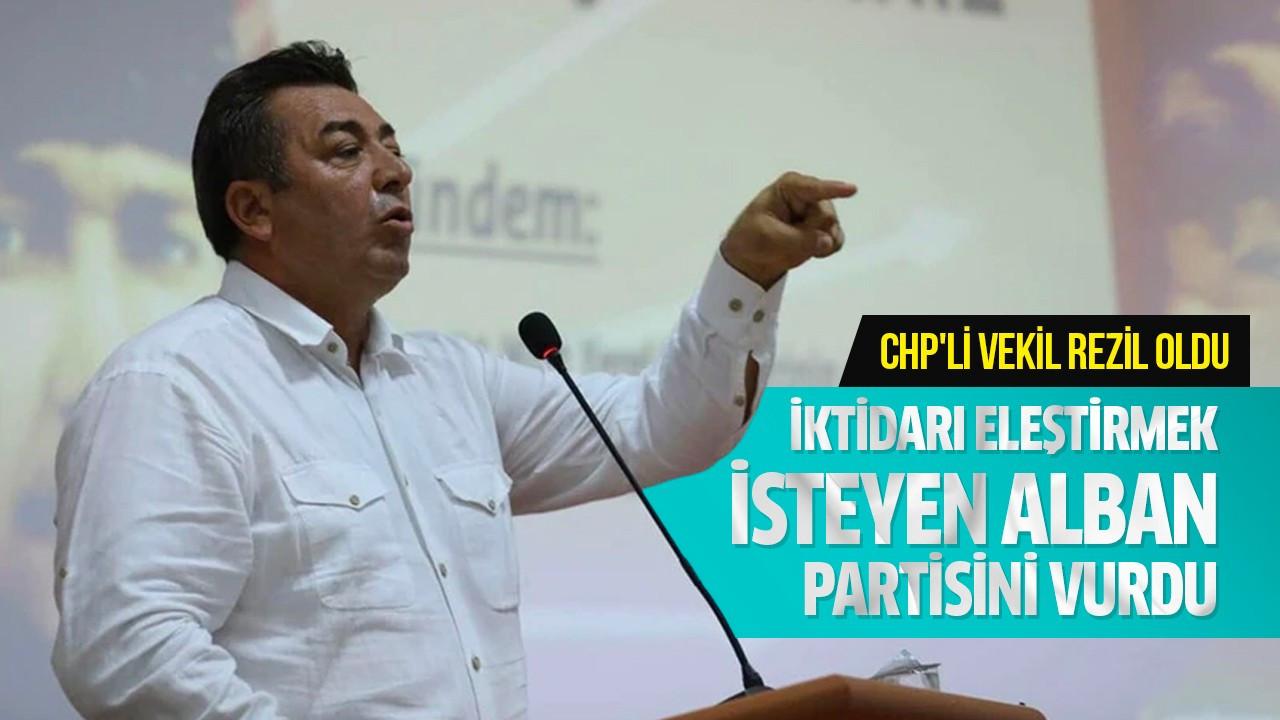 İktidarı eleştirmek isteyen Alban partisini vurdu