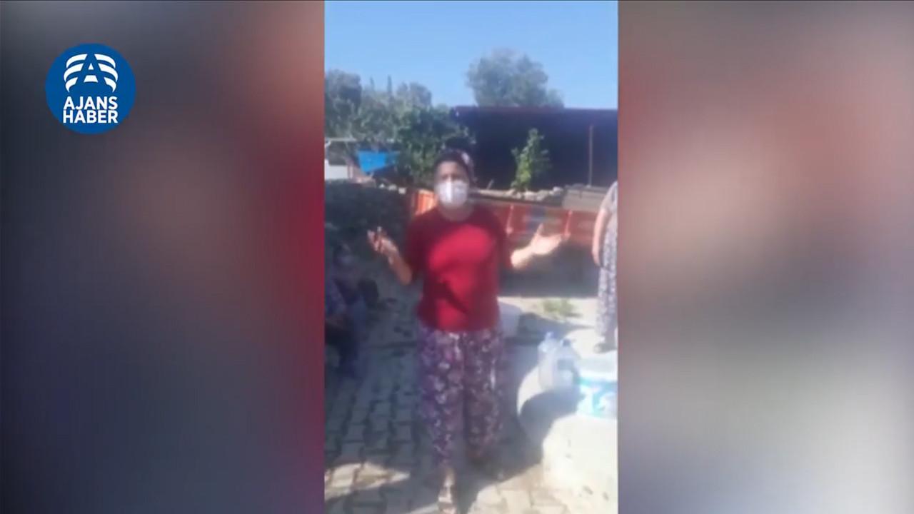 CHP'li belediyeye isyan etti: Suyumuzu geri verin!