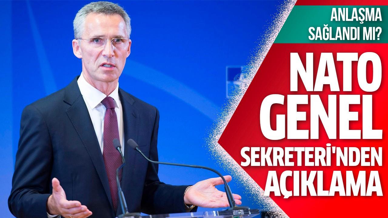 NATO Genel Sekreteri'nden açıklama