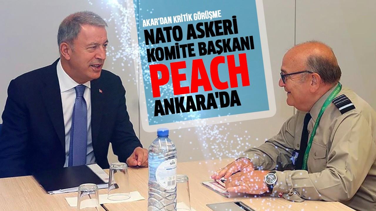NATO Askeri Komite Başkanı Peach Ankara'da