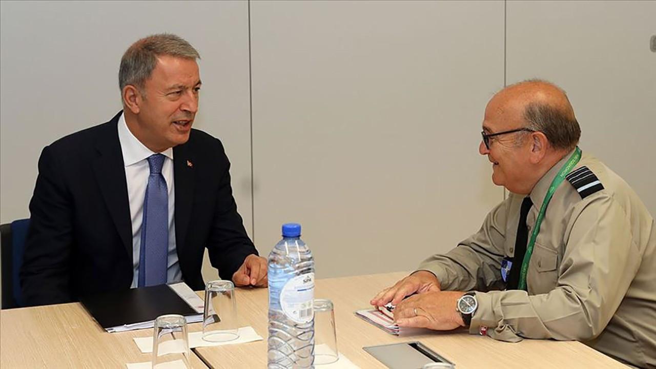 Akar, NATO Askeri Komite Başkanı Peach ile görüştü
