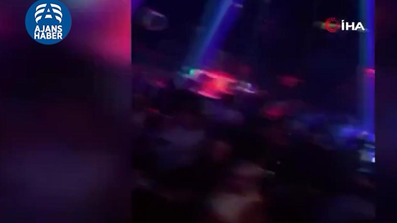 Gece Klübünde skandal görüntü!