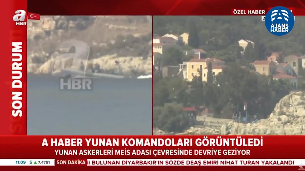 A Haber Yunan Komandoları Görüntüledi