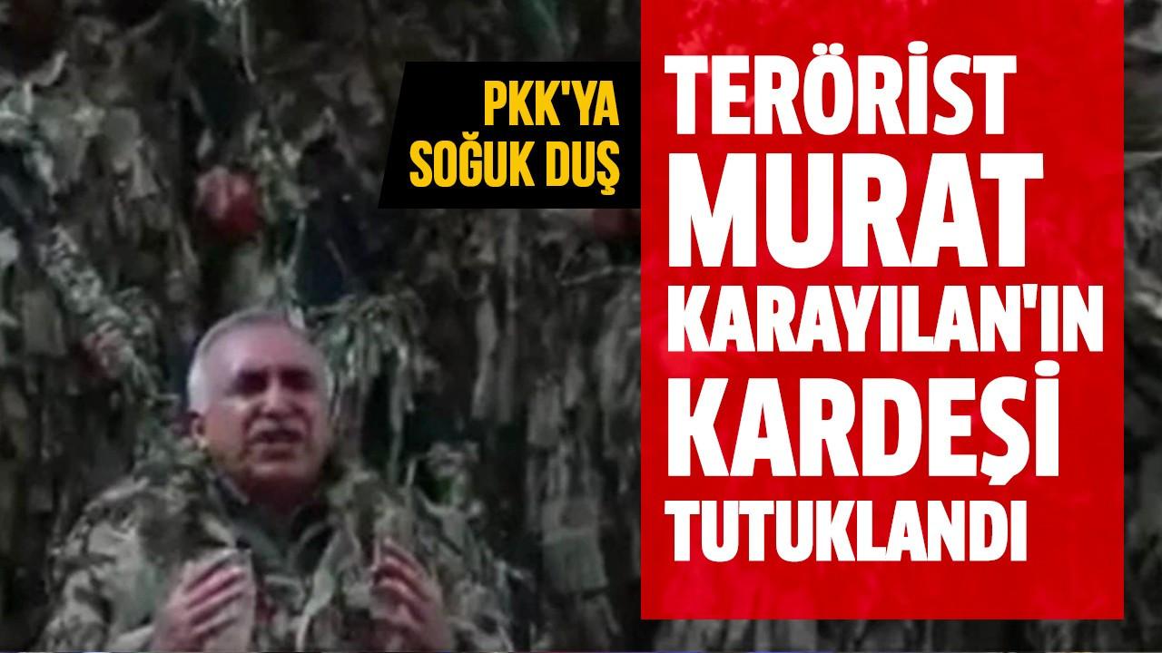 Terörist Murat Karayılan'ın kardeşi tutuklandı