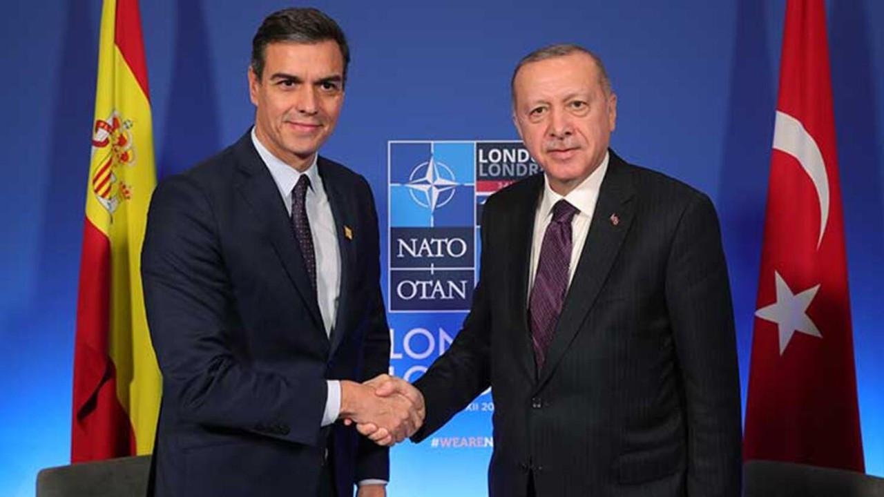 Erdoğan İspanya Başbakanı Sanchez ile görüştü
