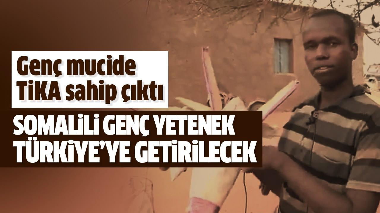 Somalili genç yetenek Türkiye'ye getirilecek