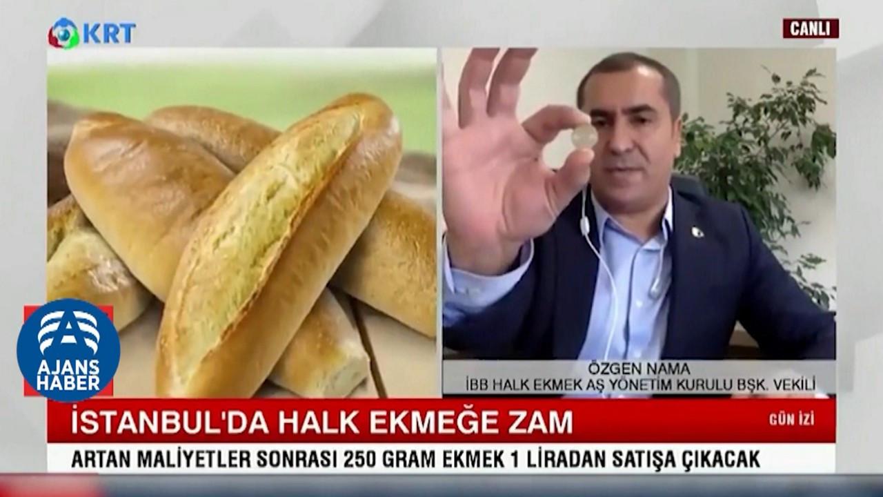 İBB skandal ifadelerle ekmek zammını savundu!