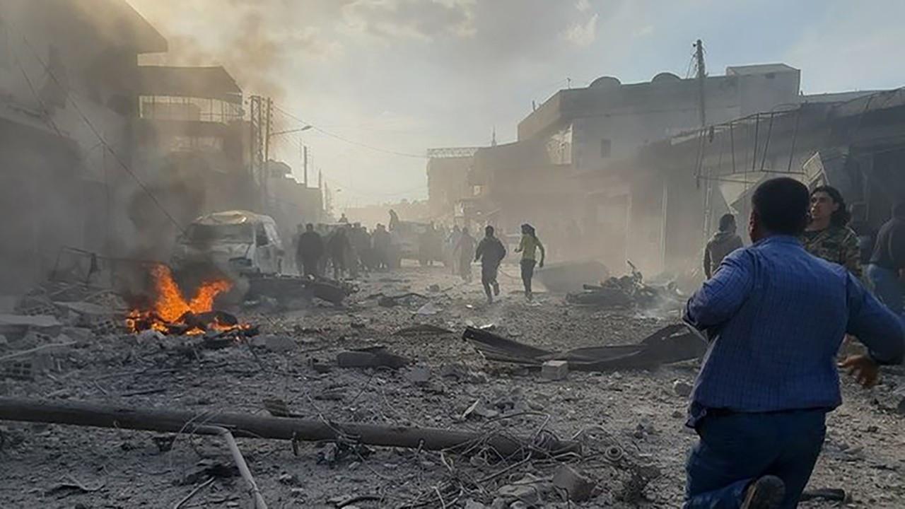 Bab'da bombalı terör saldırısı