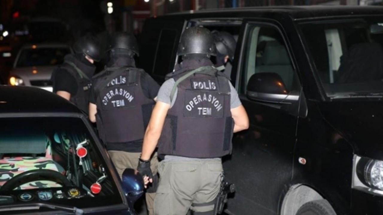 İstanbul'da terör örgütlerine yönelik operasyon