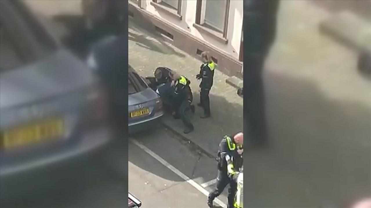 Almanya'da polisin vatandaşa müdahalesine tepki