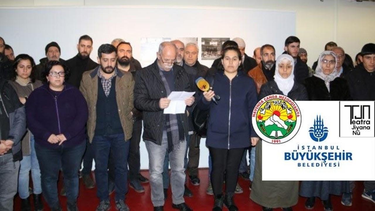 İBB'nin sahnesi PKK'nın tiyatro grubuna