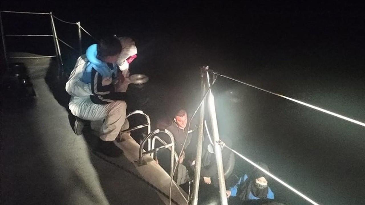 Muğla açıklarında 14 sığınmacı kurtarıldı