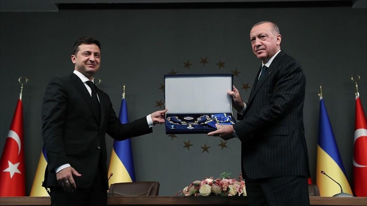 Başkan Erdoğan'a 'Ukrayna Devlet Nişanı' verildi