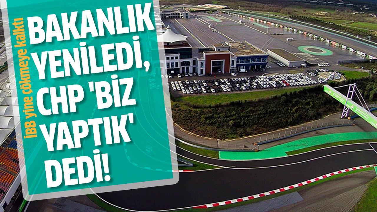 Bakanlık yeniledi, CHP 'biz yaptık' dedi!