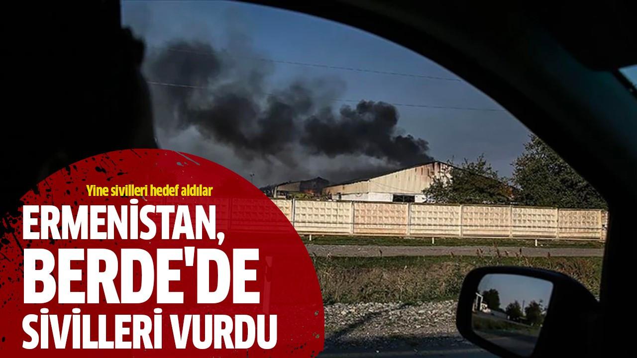 Ermenistan, Berde'de sivilleri vurdu