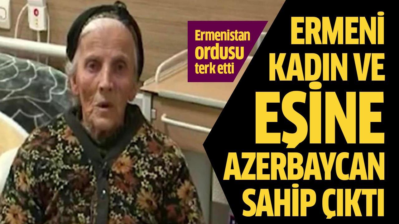 Ermeni kadın ve eşine Azerbaycan sahip çıktı