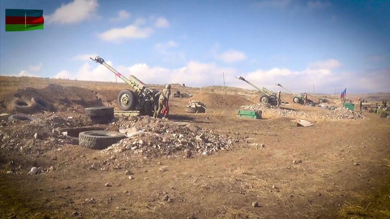 Azerbaycan ordusu sivillerin intikamını alıyor