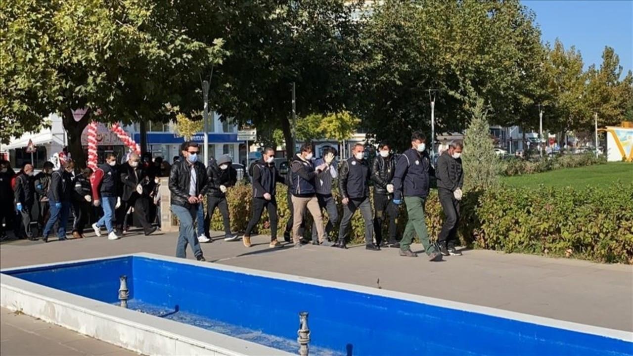 15 şüpheliden 5'i tutuklandı