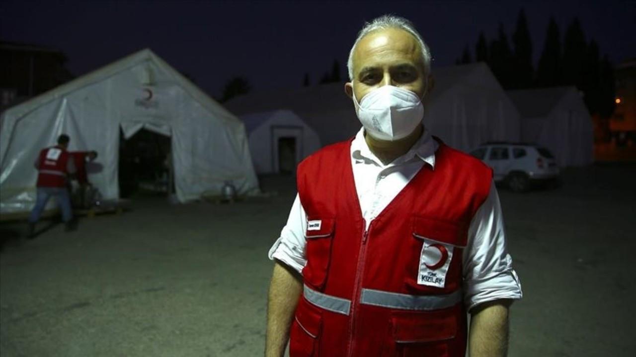 Türk Kızılay depremzedelerin hizmetinde