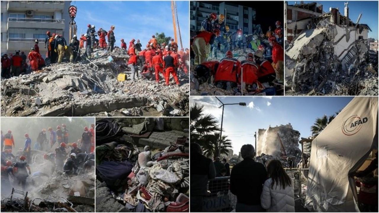 Depremde ölenlerin 112'si enkazdan çıkarıldı