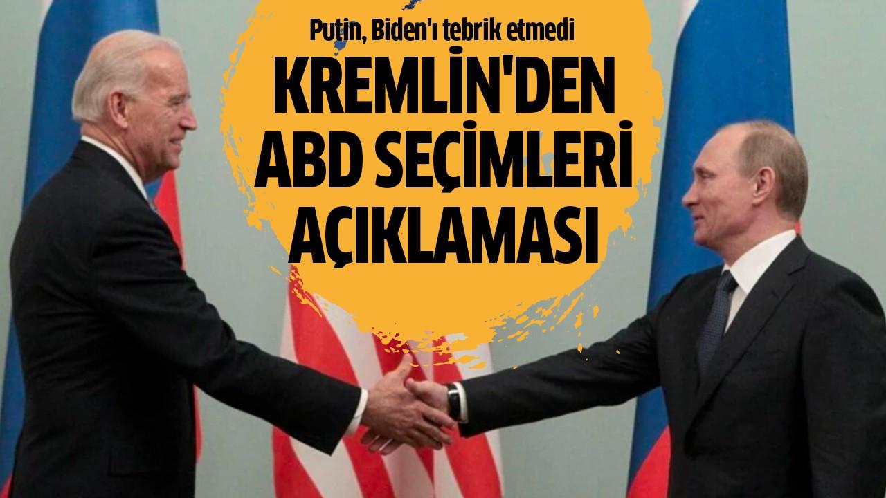 Kremlin'den ABD seçimleri açıklaması
