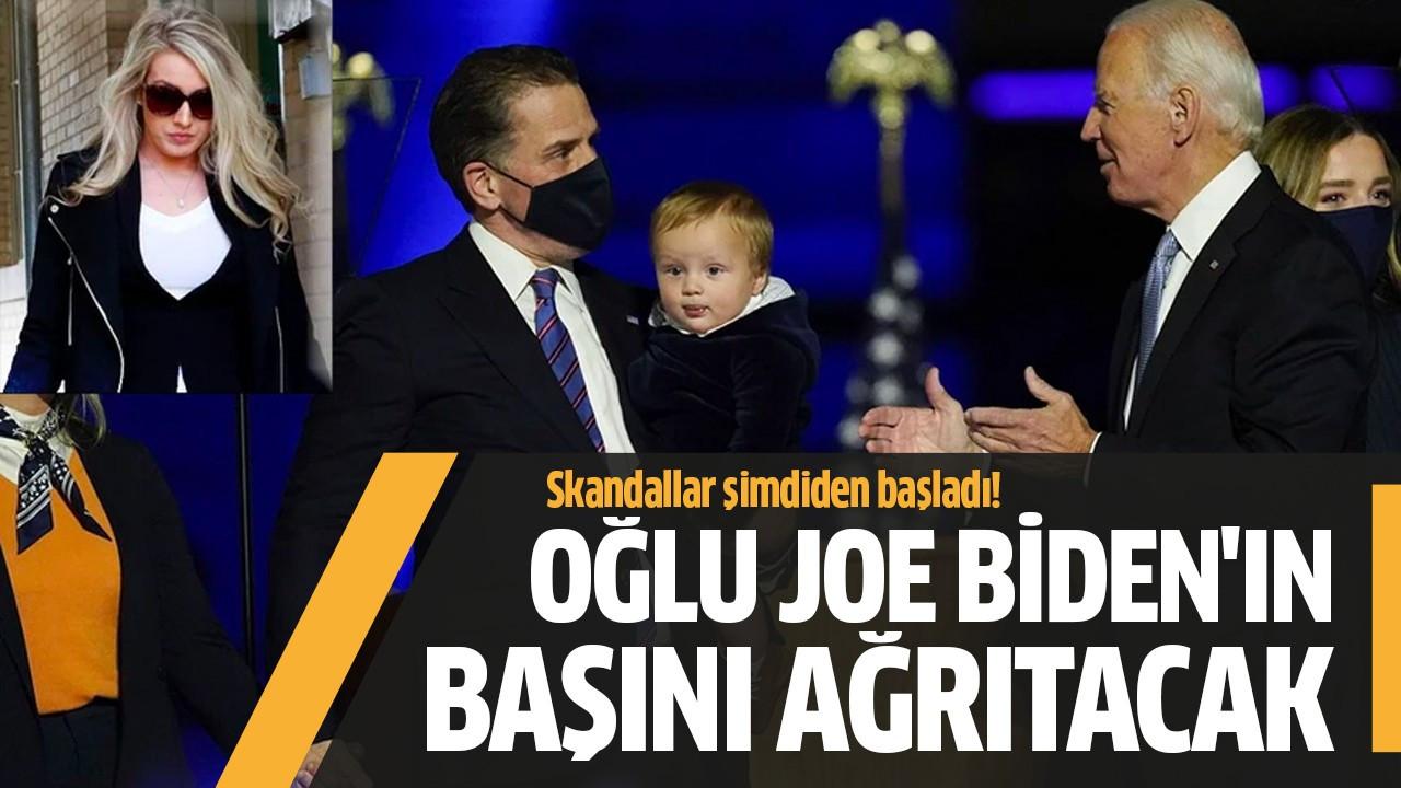 Oğlu Joe Biden'ın başını ağrıtacak