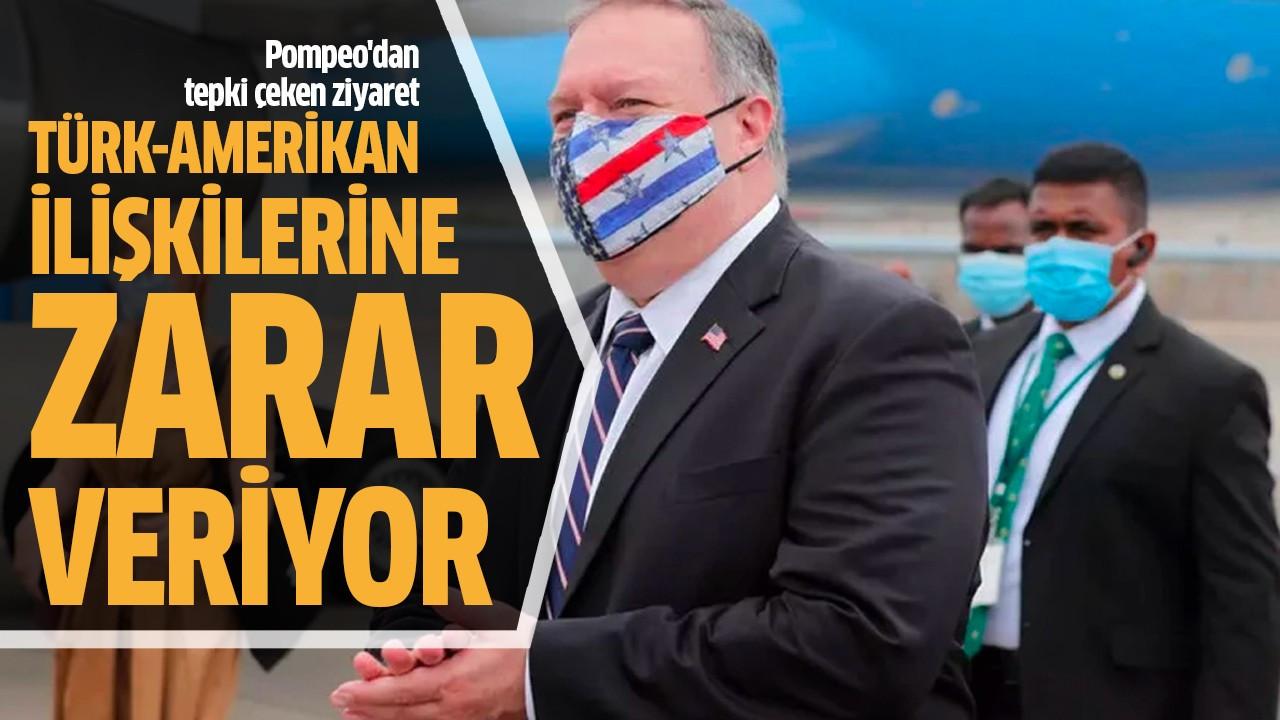 Türk-Amerikan ilişkilerine zarar veriyor