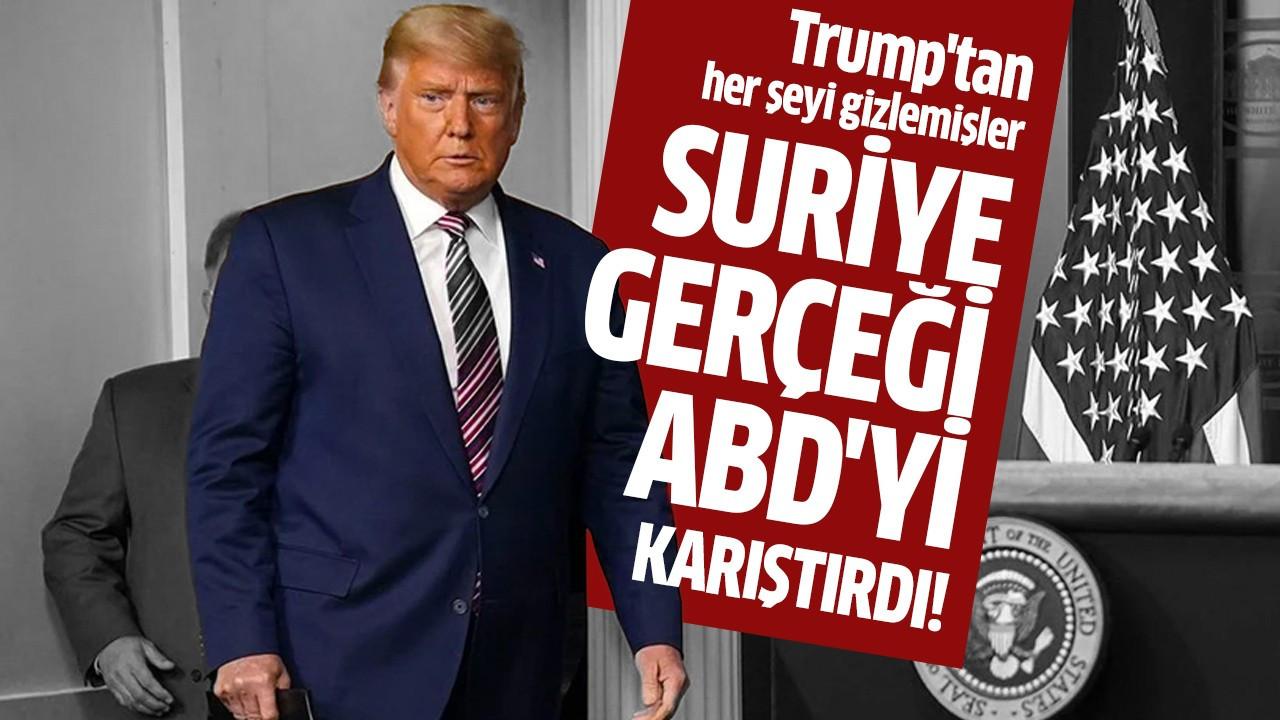 Suriye gerçeği ABD'yi karıştırdı!