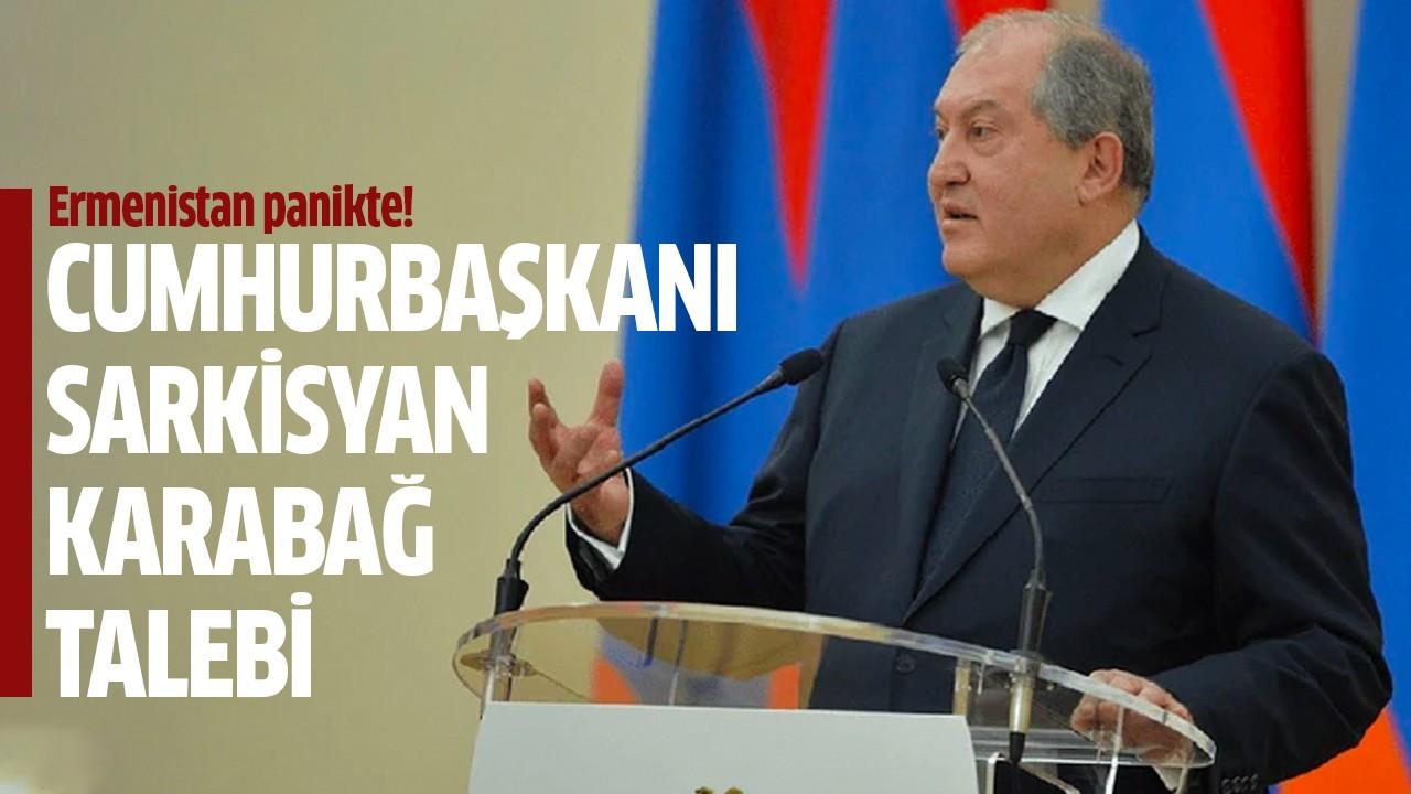 Cumhurbaşkanı Sarkisyan Karabağ talebi