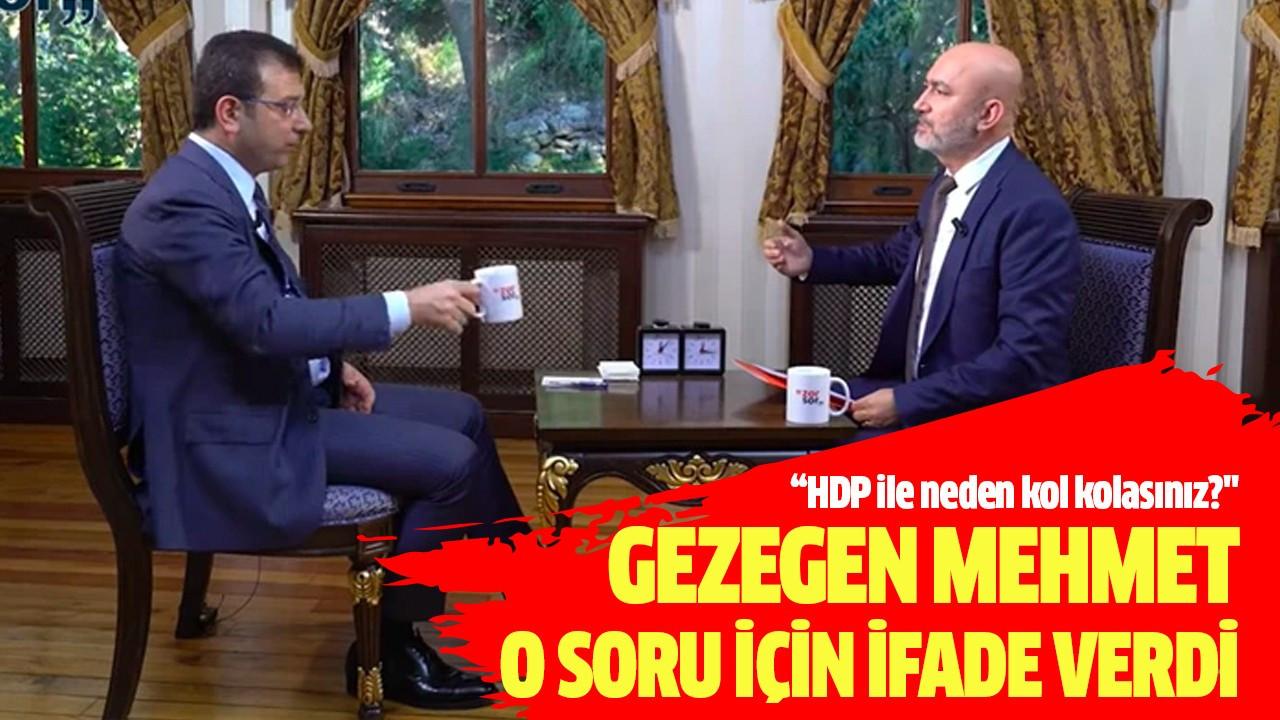 Gezegen Mehmet o soru için ifade verdi
