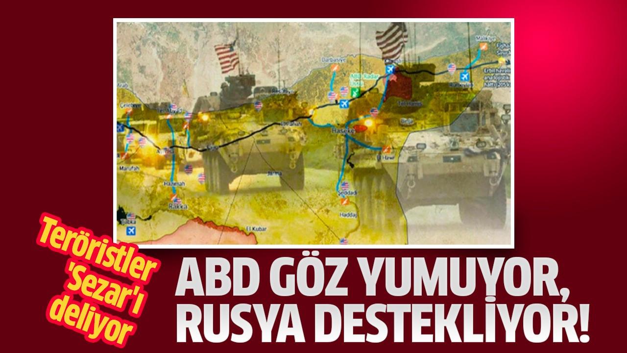 ABD göz yumuyor, Rusya destekliyor!