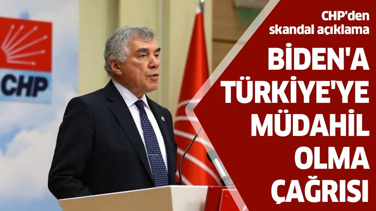 Biden'a Türkiye'ye müdahil olma çağrısı