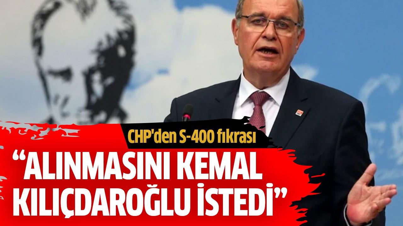 """""""Alınmasını Kemal Kılıçdaroğlu istedi"""""""