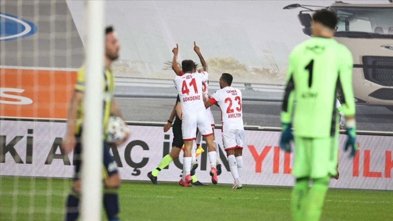 Antalyaspor'da 12 maçlık yenilmezlik rekoru