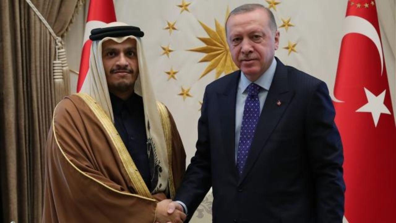 Katar Dışişleri Bakanı Al Sani'yi kabul edecek