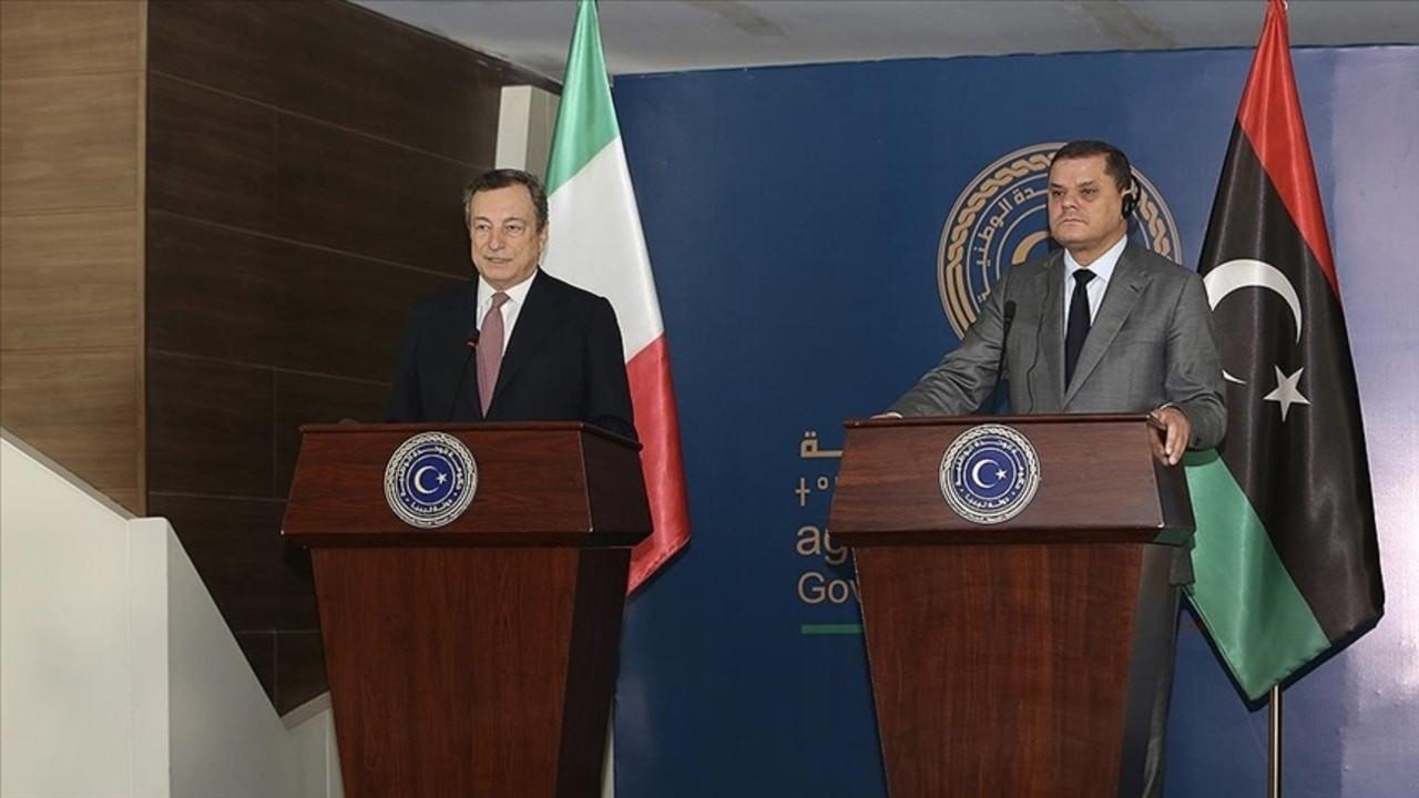 İtalya Başbakanının ilk ziyareti Libya'ya
