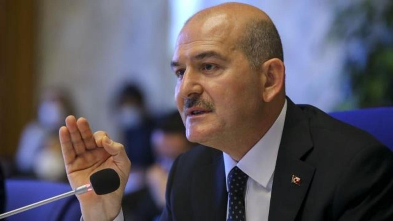 Bakan Soylu'dan önemli kaçak göçmen açıklaması