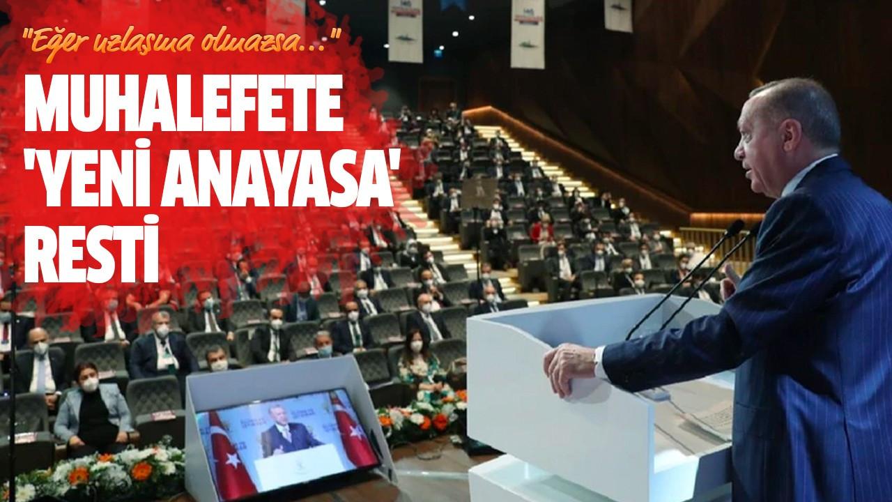 Muhalefete 'yeni anayasa' resti