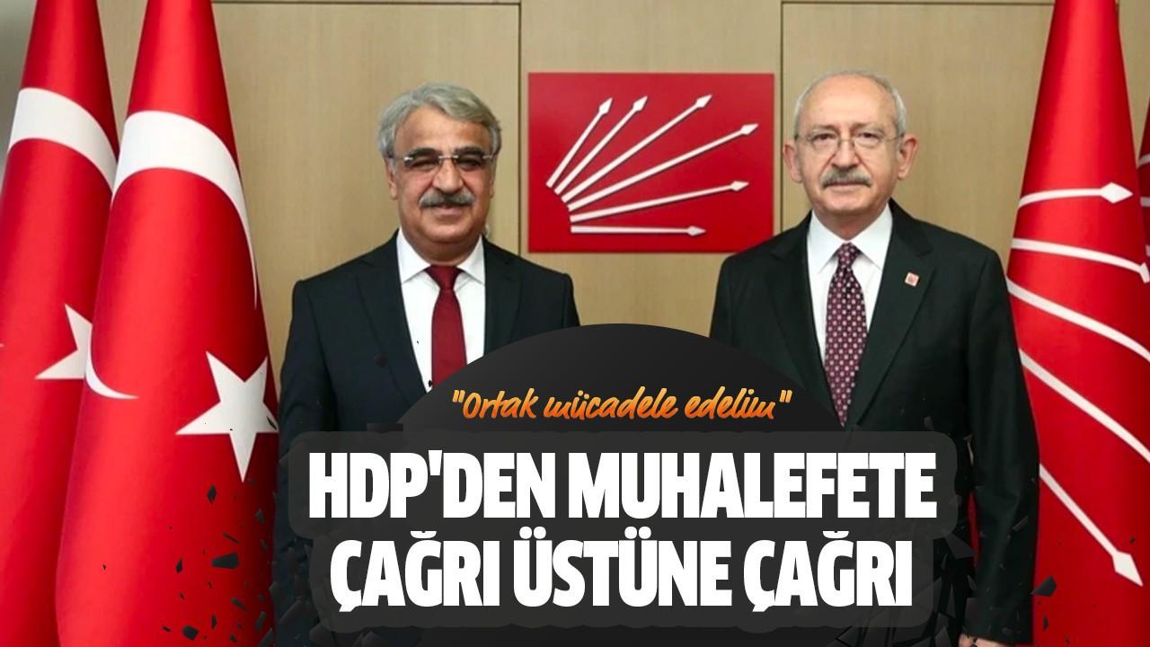 HDP'den muhalefete çağrı üstüne çağrı