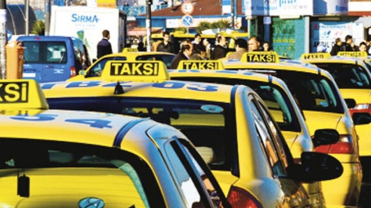 Taksilerde uzun kuyruklara çözüm