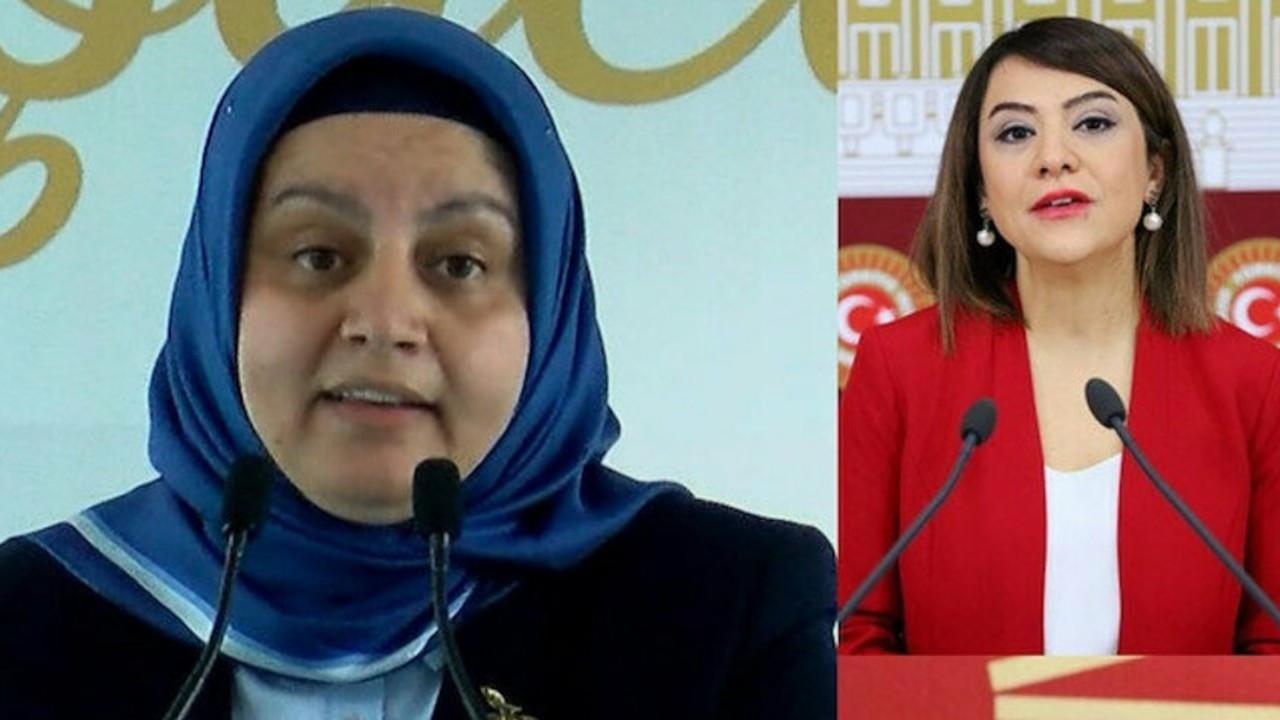 CHP ve HDP'liler baro başkanının üstüne yürüdü