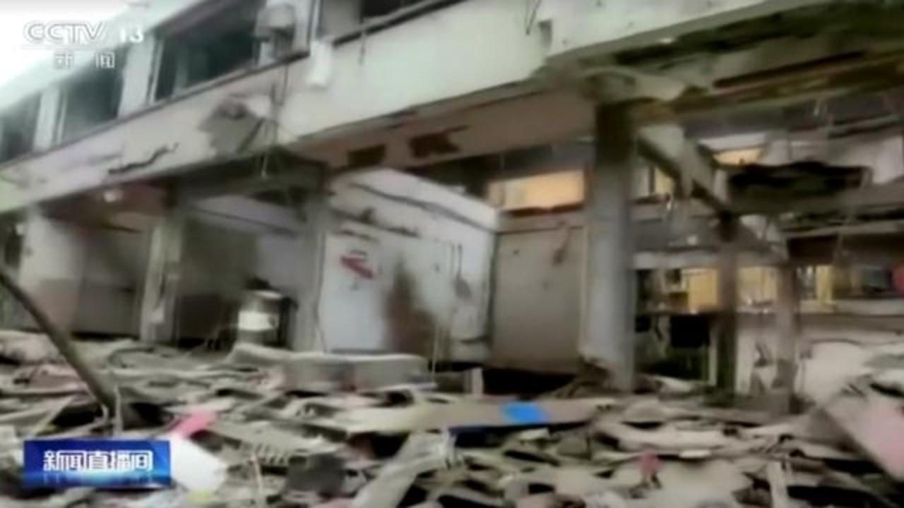 Çin'de doğal gaz patlaması: 12 ölü