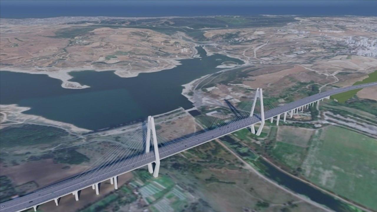 Kanal İstanbul'da ilk köprü detayları belli oldu