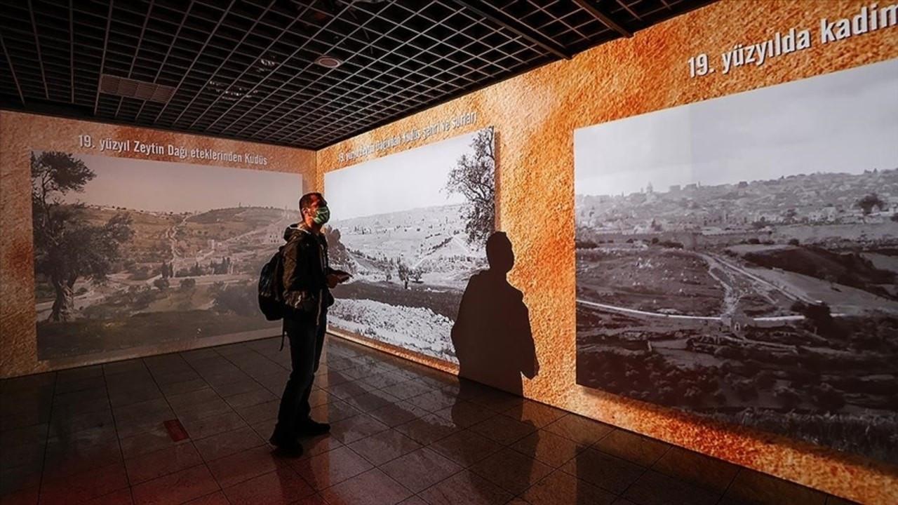 'Geçmişten Bugüne Kudüs' sergisi açıldı